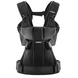 Baby Bjorn 091023US Baby Carrier One Cotton Mix Black
