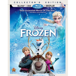 Frozen DVD - 2 Pack Blu Ray