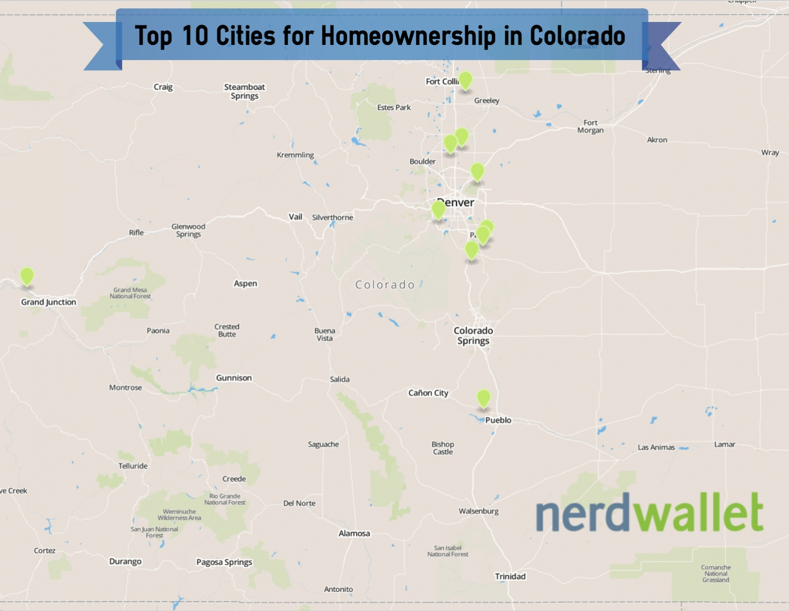 Top 10 Cities for Homeownership in Colorado