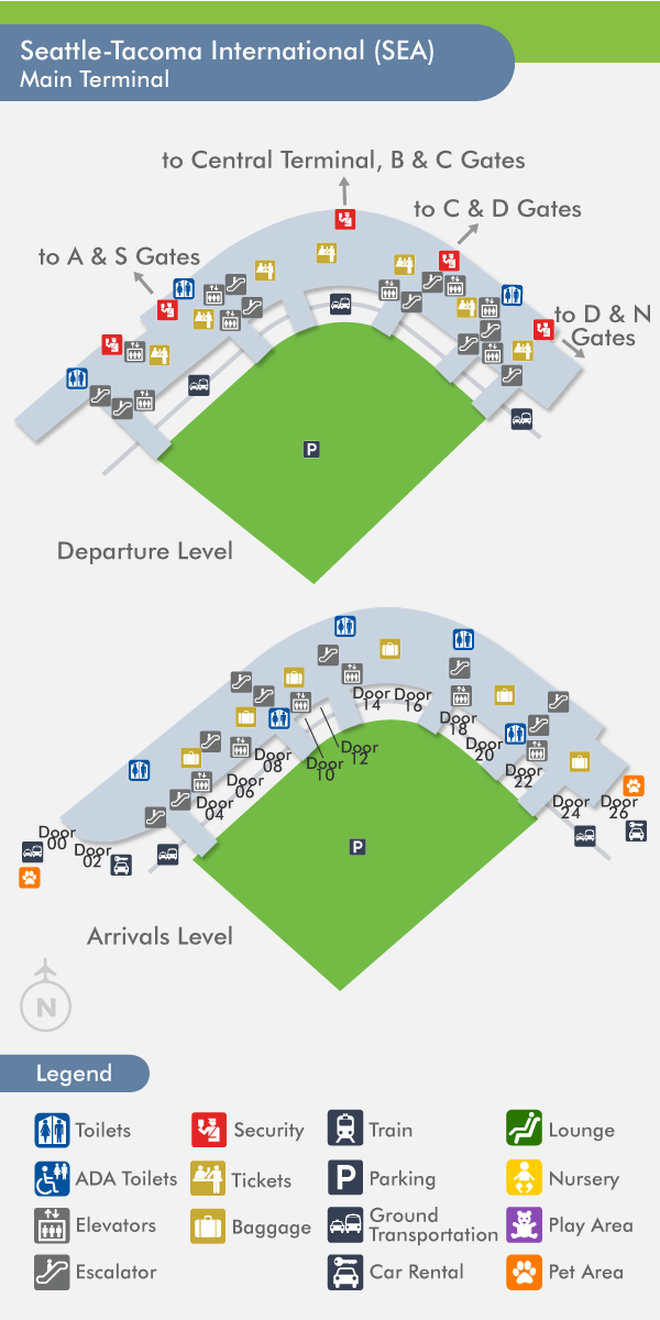 Seatac Airline Map Pictures To Pin On Pinterest  PinsDaddy