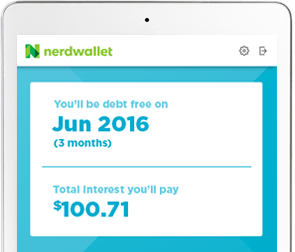 myNerdWallet - Debt Management