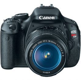 Canon EOS Rebel T3i DSLR Camera