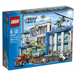 Lego City Police Station 60047 Building Set
