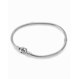Sterling Silver Pandora Bracelet with Signature Clasp